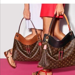 Louis Vuitton Tuileries hobo bag
